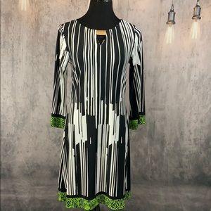 NWT Haani Black & White Dress